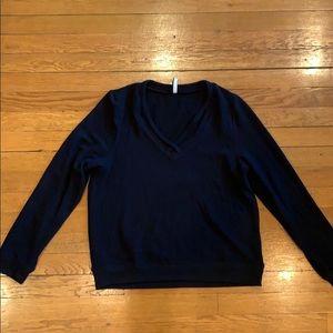 Z Supply Black V-neck Sweater -NWOT